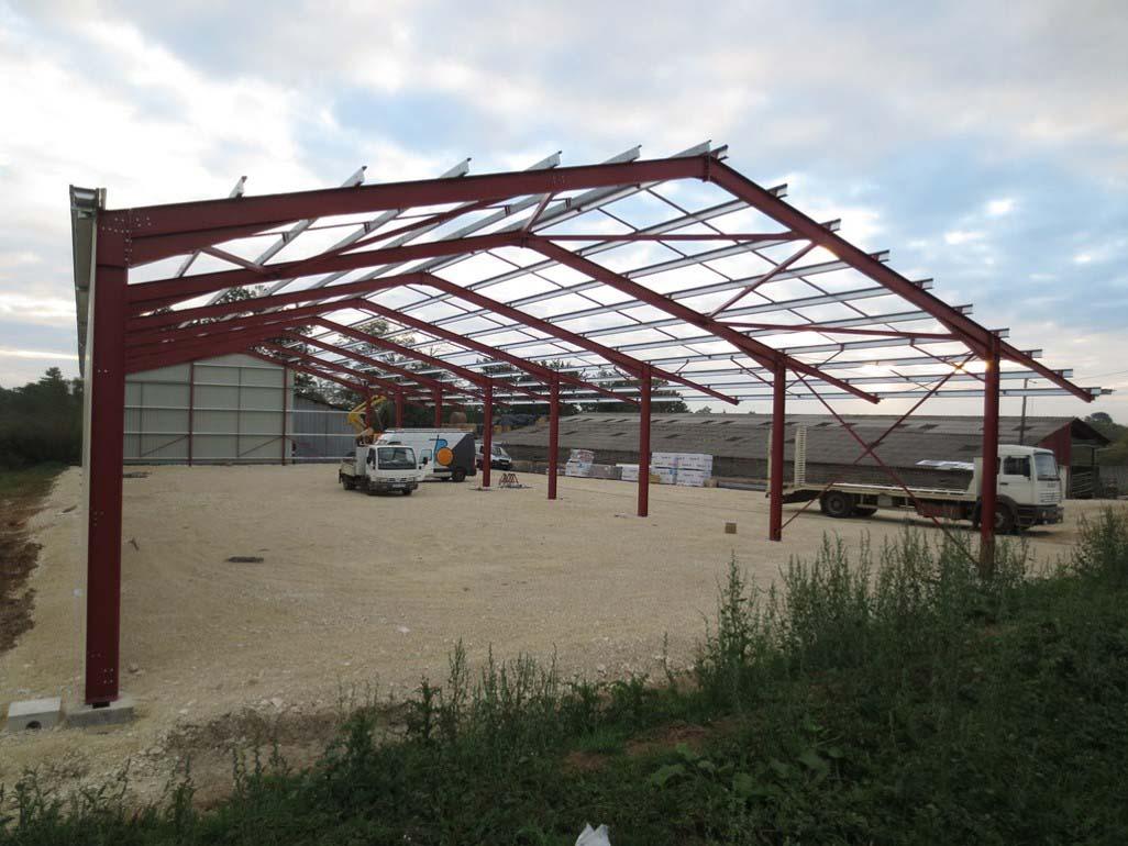 Bâtiment de stockage - Charente
