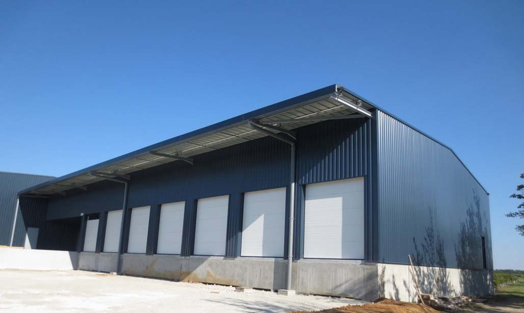 Bâtiment de stockage - Gironde