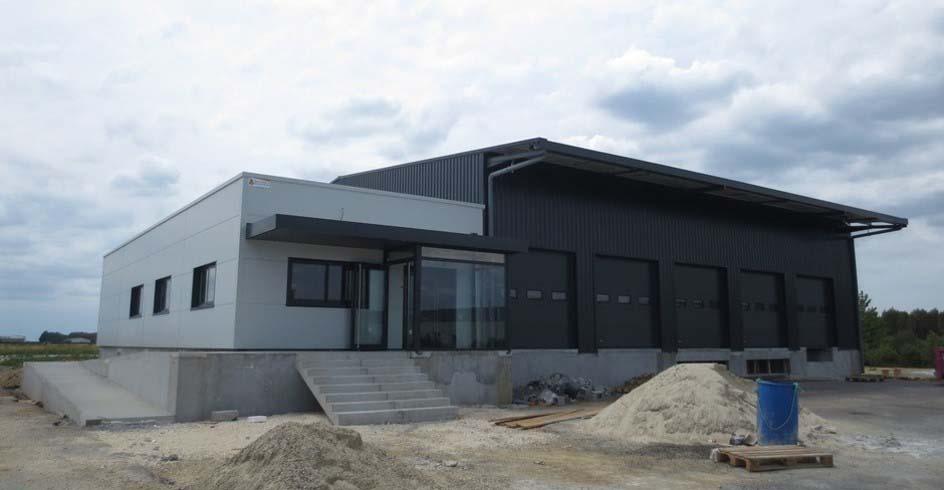 Bâtiment de stockage et bureaux - Gironde