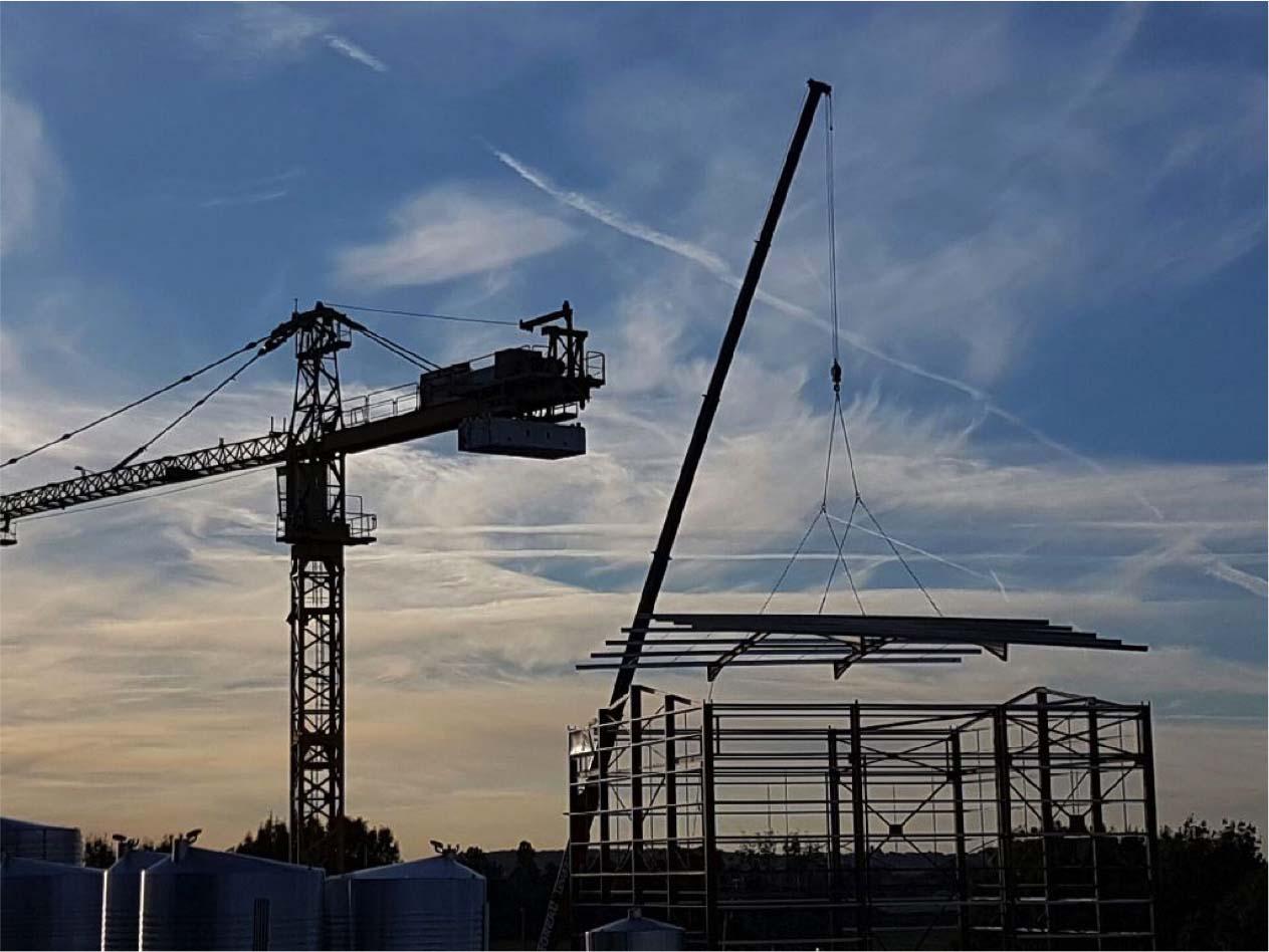 Bâtiment industriel - Charente