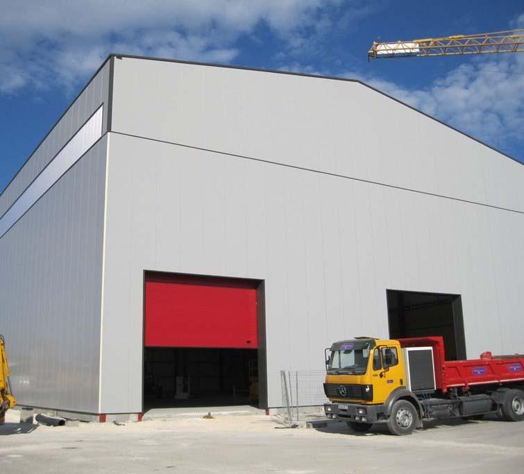 Bâtiment industriel - Charente-Maritime