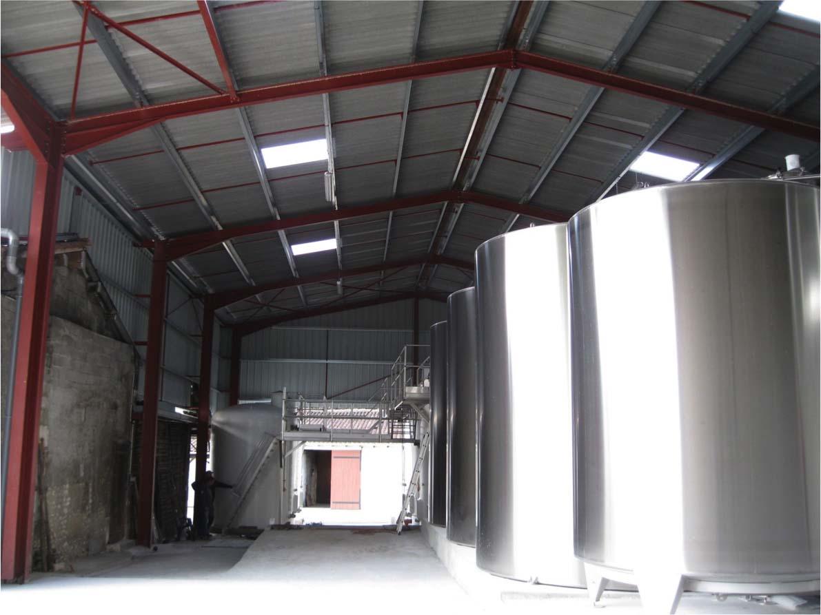 Bâtiment viticole- Charente-Maritime