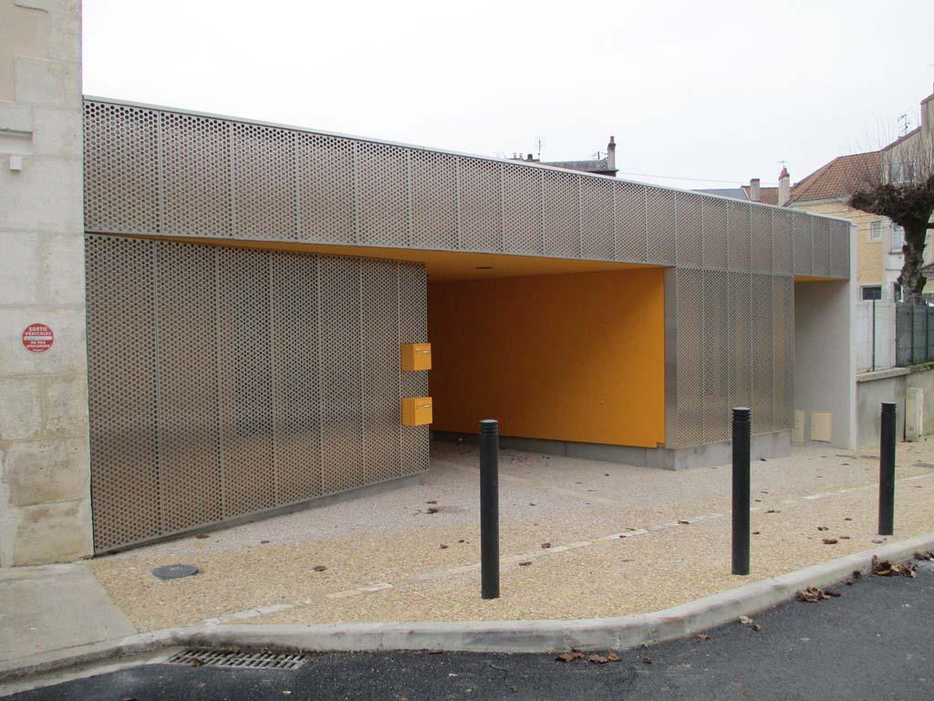 Façade Maison de Quartier St Martin à Périgueux